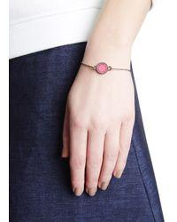 Marc By Marc Jacobs - Powder Pink Enamel Disc Bracelet - Lyst