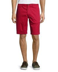 Robert Graham - Red Forgione Gingham Seersucker Shorts for Men - Lyst