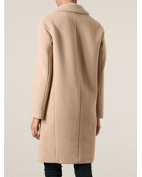 Dondup - Natural Classic Fitted Coat - Lyst
