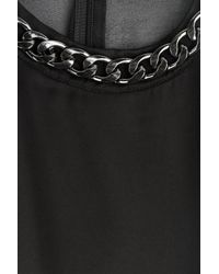 Balmain - Chain Embellished Minidress - Black - Lyst