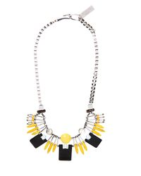 Weekend by Maxmara | Black Gilbert Necklace | Lyst