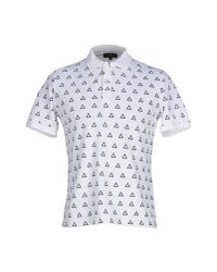 Le Mont St Michel | White Polo Shirt for Men | Lyst