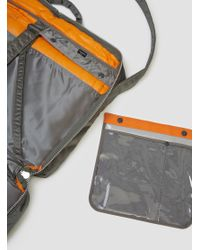 Porter - Metallic Tanker Boston Bag Type D Silver Grey for Men - Lyst