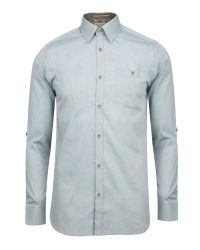 Ted Baker | Green Antonyo Soft Oxford Shirt for Men | Lyst
