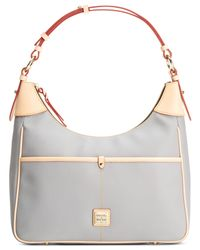 Dooney & Bourke | Gray Carly Small Rebecca Hobo | Lyst