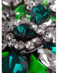 Shourouk   Green Mini 'theresa' Necklace   Lyst