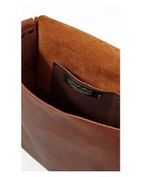 Express - Brown Robert Mason Signature Franklin Bag for Men - Lyst