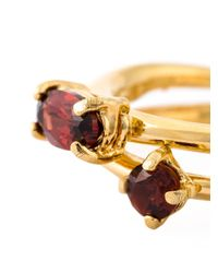 Wouters & Hendrix | Metallic 'playfully Precious' Garnet Ring | Lyst