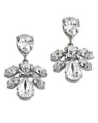 Mews London - Metallic Mini Cluster Earrings - Lyst