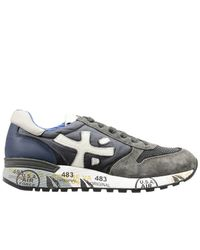 Premiata | Gray Sneakers for Men | Lyst