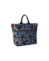 Vera Bradley | Blue Lighten Up Expandable Travel Bag | Lyst