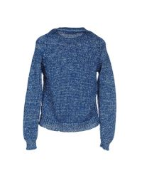 Mauro Grifoni - Blue Sweater - Lyst