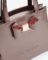 Ted Baker | Pink Small Crystal Bow Trim Shopper Bag | Lyst