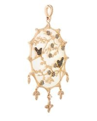 Annoushka - Metallic Gold And Mother Of Pearl Dream Catcher Pendant - Lyst