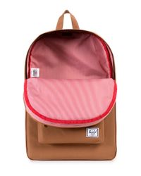 Herschel Supply Co. - Brown Classic Backpack Tan for Men - Lyst