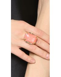 Erickson Beamon | Cocktail Ring - Pink | Lyst