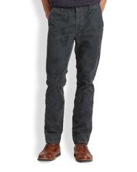 Joe's Jeans | Black Digitalprint Camo Chinos for Men | Lyst