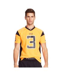 Ralph Lauren | Orange Short-sleeved Football Jersey for Men | Lyst