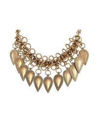 Ziba - Metallic Signature Paulette Necklace - Lyst