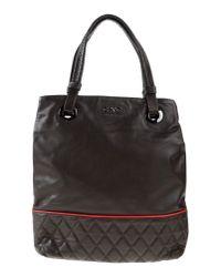 CoSTUME NATIONAL - Brown Handbag - Lyst