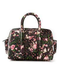 Givenchy | Multicolor Floral Print Lucrezia Bowling Bag | Lyst