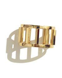 Sarah Magid | Pink Ingot Cuff Bracelet, Rose Gold | Lyst