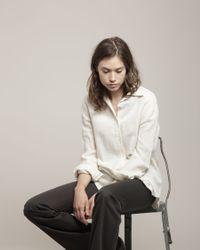 Satomi Kawakita - Metallic Half Round Necklace - Lyst
