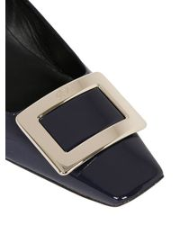 Roger Vivier - Blue 45Mm Belle Vivier Patent Leather Pumps - Lyst