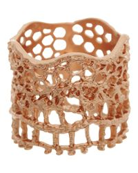 Aurelie Bidermann | Pink Lace Ring | Lyst