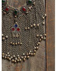 Free People - Multicolor Vintage Chain Neckpiece - Lyst