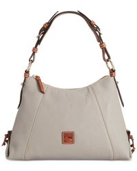 Dooney & Bourke | Gray Small East West Slouch Bag | Lyst