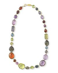 Ippolita | Multicolor 18k Rock Candy Sofia Fall Rainbow Necklace | Lyst