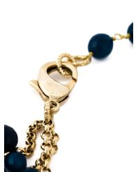 Rosantica - Blue Beaded Necklace - Lyst