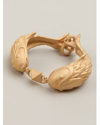 Valentino - Metallic Double Fish Bracelet - Lyst