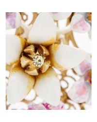 Dolce & Gabbana - Pink Crystal-Embellished Enamel Clipon Earrings - Lyst