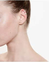 Repossi - Pink 18k Gold And Diamond Ear Cuff - Lyst