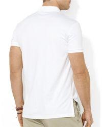 Polo Ralph Lauren | White Pima Soft-Touch Polo Shirt for Men | Lyst