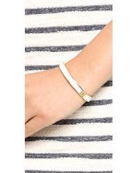 Kate Spade | Metallic Clean Slate Hinged Bangle Bracelet | Lyst