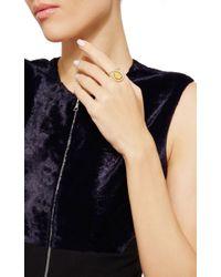 Nina Runsdorf | Metallic Yellow Beryl Flip Ring | Lyst