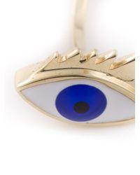 Delfina Delettrez | Blue Eye Ring | Lyst