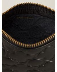 Comme des Garçons - Black 'Embossed B' Coin Purse - Lyst
