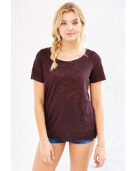 Project Social T | Purple Kate Crew-neck Tee | Lyst