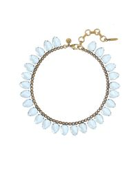 Loren Hope | Sylvia Necklace, Ice Blue | Lyst