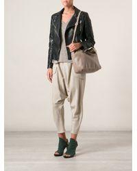 MICHAEL Michael Kors - Natural Jet Set Chain Tote Bag - Lyst