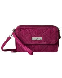 Vera Bradley | Purple All In One Crossbody For Iphone 6+ | Lyst