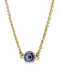 Marc By Marc Jacobs   Metallic Lock-in Key Necklace - Gold   Lyst