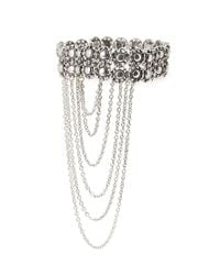 Forever 21 - Metallic Etched Accented Arm Bracelet - Lyst