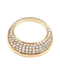 Hoorsenbuhs | Metallic 'chip' Diamond Ring | Lyst