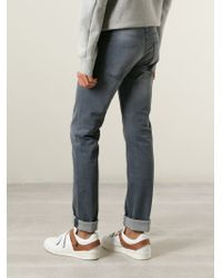 Acne Studios | Gray 'roc' Straight Leg Jeans for Men | Lyst
