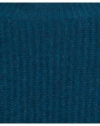 Paul Smith - Blue Teal Ribbed Wool Knit Jumper for Men - Lyst